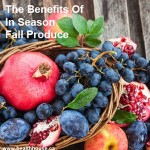 the benefits of in-season fall produce.